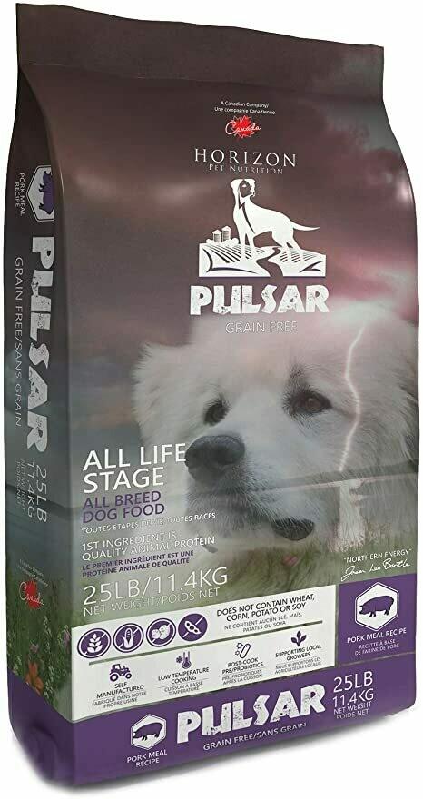 HORIZON DOG PULSAR PORK 11.4KG.
