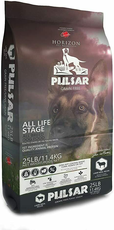HORIZON DOG PULSAR LAMB 11.4KG.