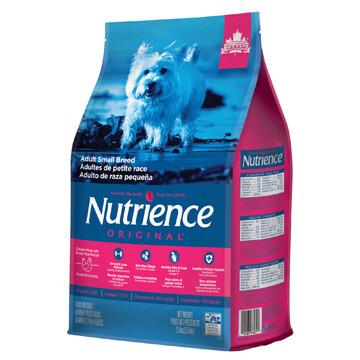 NUTRIENCE ORIGINAL DOG CHICKEN & BROWN RICE SM BREED 2.5KG.
