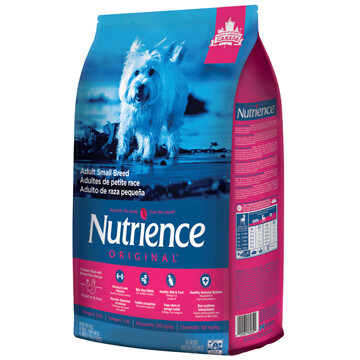 NUTRIENCE ORIGINAL DOG  CHICKEN & BROWN RICE SM BREED 5KG.