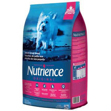 NUTRIENCE ORIGINAL DOG  CHICKEN & BROWN RICE SM BREED 5KG.