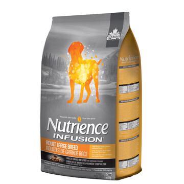 NUTRIENCE INFUSION DOG CHICKEN ADULT LG BREED 10KG.