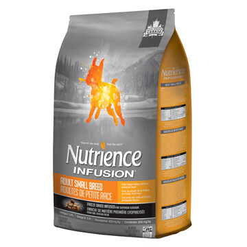 NUTRIENCE INFUSION DOG CHICKEN SM BREED 5KG.