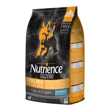 NUTRIENCE SUBZERO DOG FRASER VALLEY SM BREED 5KG.