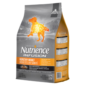 NUTRIENCE INFUSION DOG CHICKEN HEALTHY ADULT 2.27KG.
