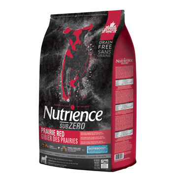NUTRIENCE SUBZERO DOG PRARIE RED 10KG.