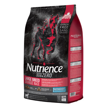 NUTRIENCE SUBZERO DOG PRARIE RED LG BREED 10KG.