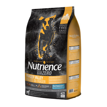 NUTRIENCE SUBZERO DOG FRASER VALLEY 10KG.