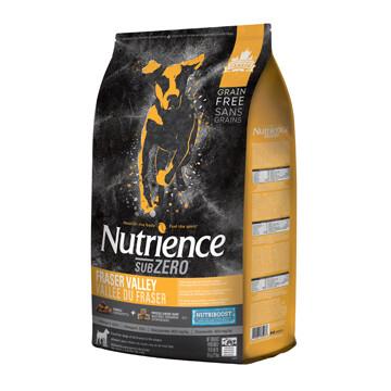 NUTRIENCE SUBZERO DOG FRASER VALLEY 10KG.