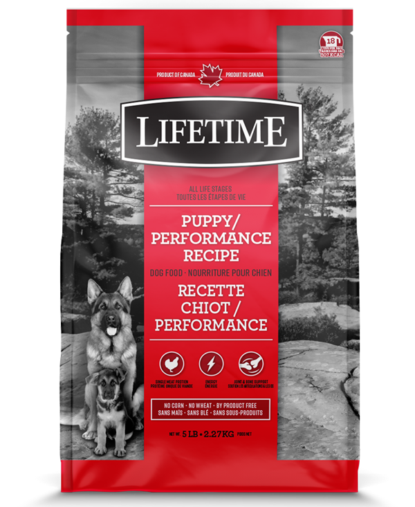 LIFETIME DOG CHICKEN & OATMEAL PUPPY 2.27KG.
