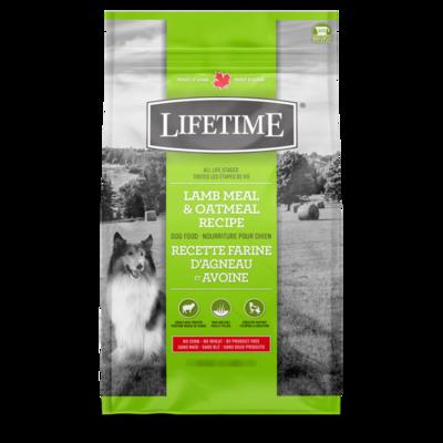 LIFETIME DOG LAMB & OATMEAL 2.27KG.