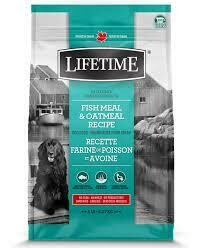 LIFETIME DOG FISH & OATMEAL 2.27KG.