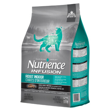 NUTRIENCE INFUSION CAT CHICKEN ADULT INDOOR 2.27KG.