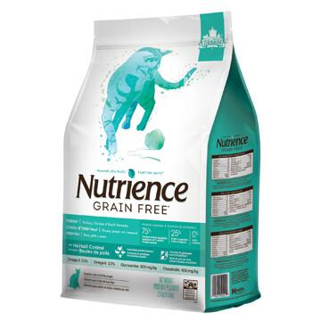 NUTRIENCE GF CAT TURKEY/CHICKEN/DUCK INDOOR ADULT 2.5KG.