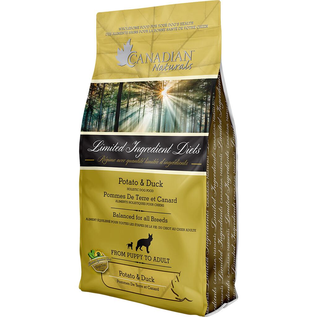 CANADIAN NATURALS DOG DUCK & POTATO 5.4KG.