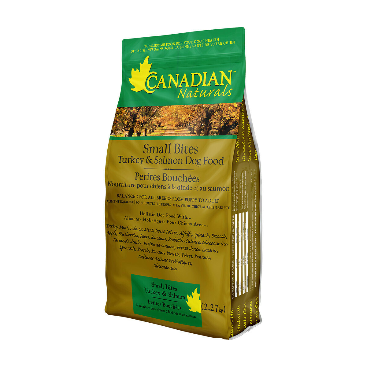 CANADIAN NATURALS DOG TURKEY & SALMON SM BITES 6.8KG.