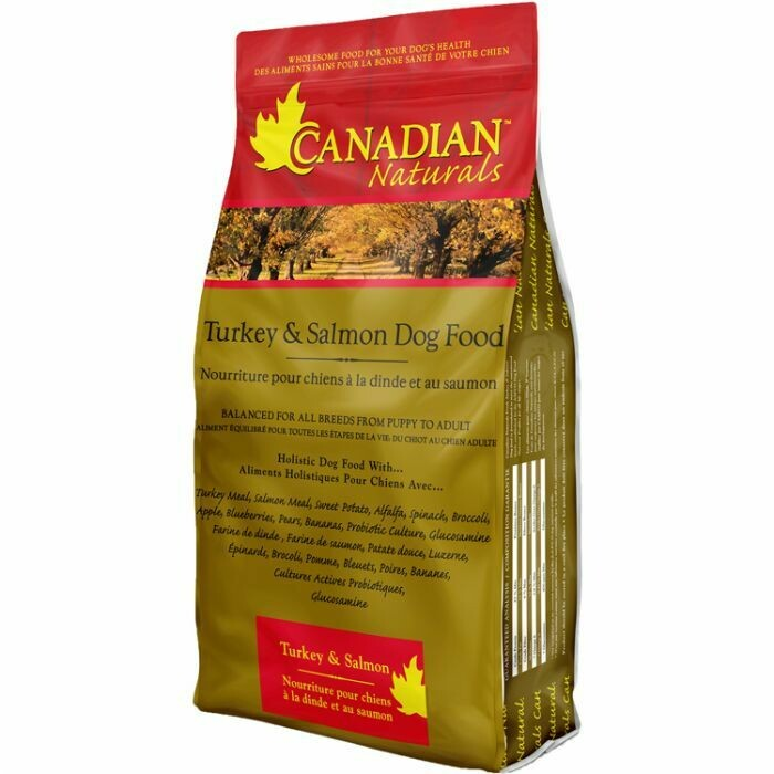 CANADIAN NATURALS DOG TURKEY & SALMON 13.6KG.
