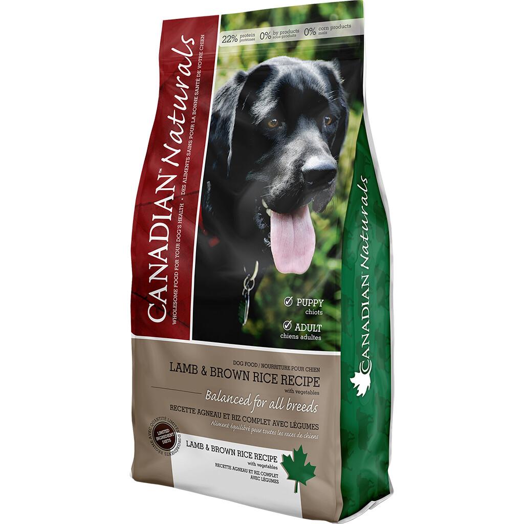 CANADIAN NATURALS DOG LAMB & RICE 11.3KG.