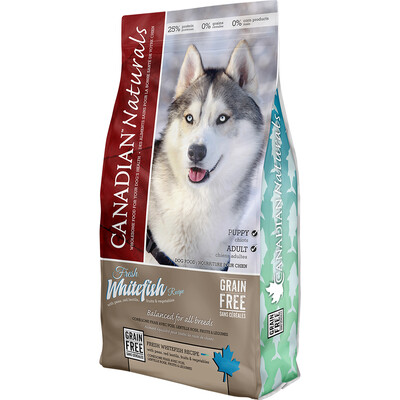 CANADIAN NATURALS DOG WHITEFISH 11.3KG.