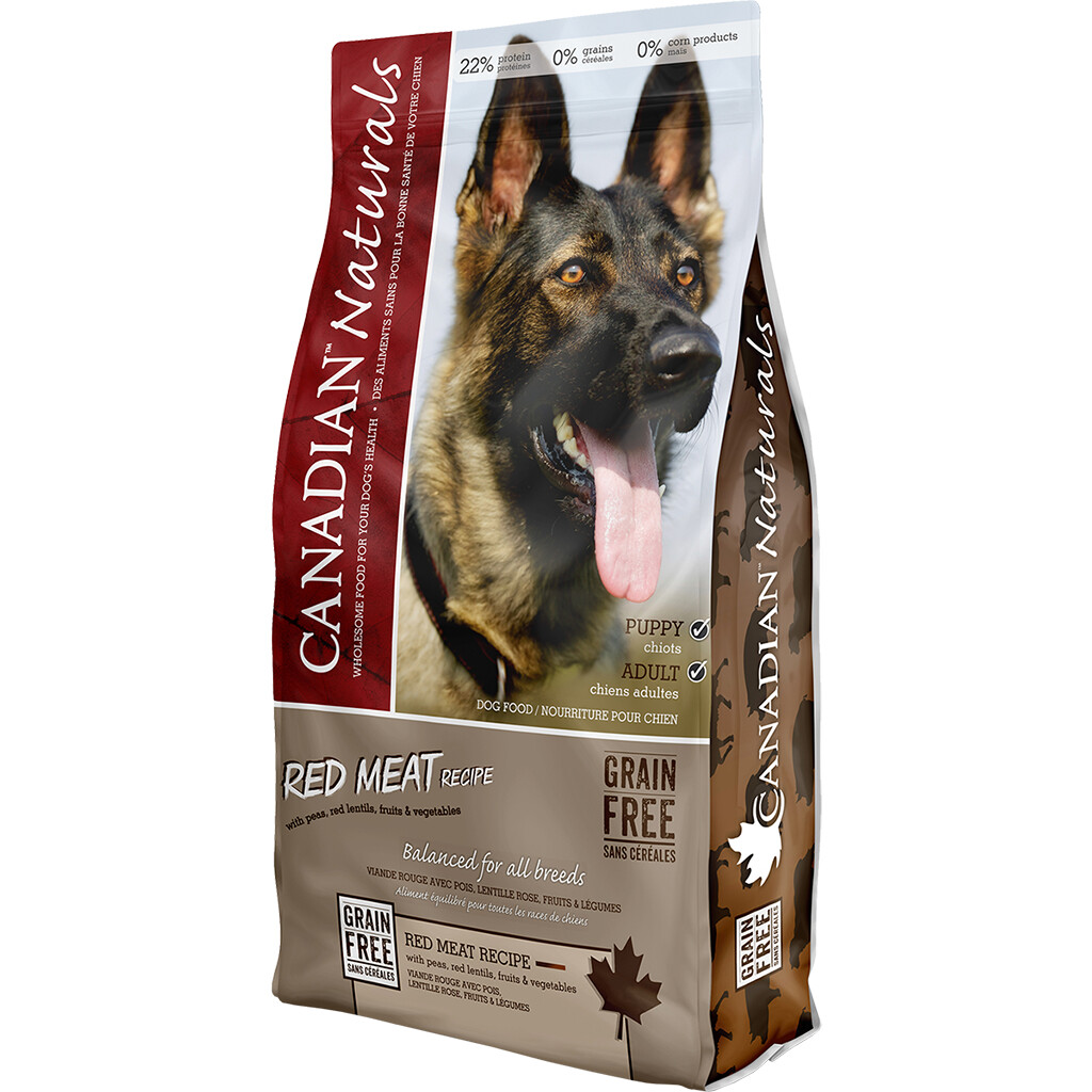 CANADIAN NATURALS DOG RED MEAT 11.3KG.