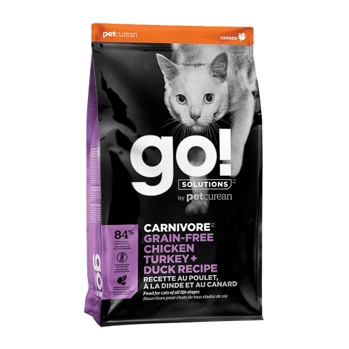 GO! CAT CHICKEN/TURKEY/DUCK 7.25KG