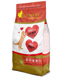 CANADIAN NATURALS CAT TURKEY & SALMON 2.9KG.