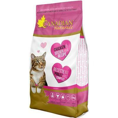 CANADIAN NATURALS CAT CHICKEN & RICE 1.4KG.
