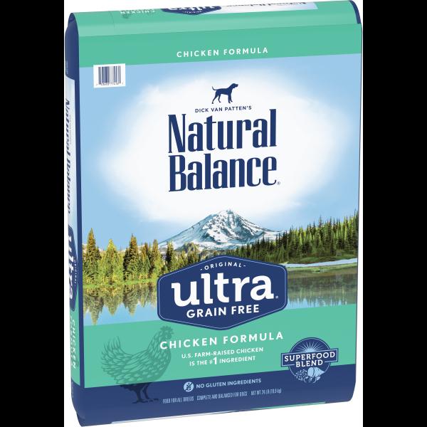 NATURAL BALANCE DOG ULTRA GRAIN FREE CHICKEN 10.9KG.