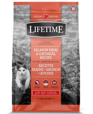 LIFETIME CAT SALMON & OATMEAL 2.27KG.