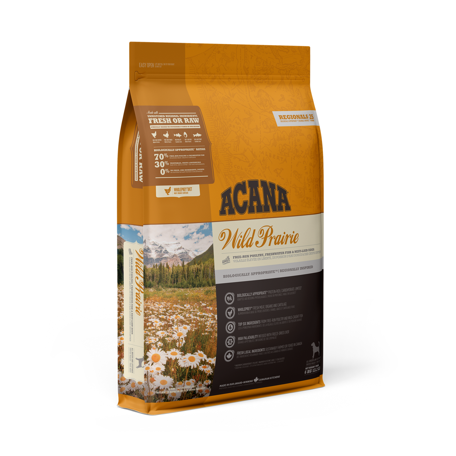 ACANA REGIONALS DOG WILD PRARIE 11.4KG.
