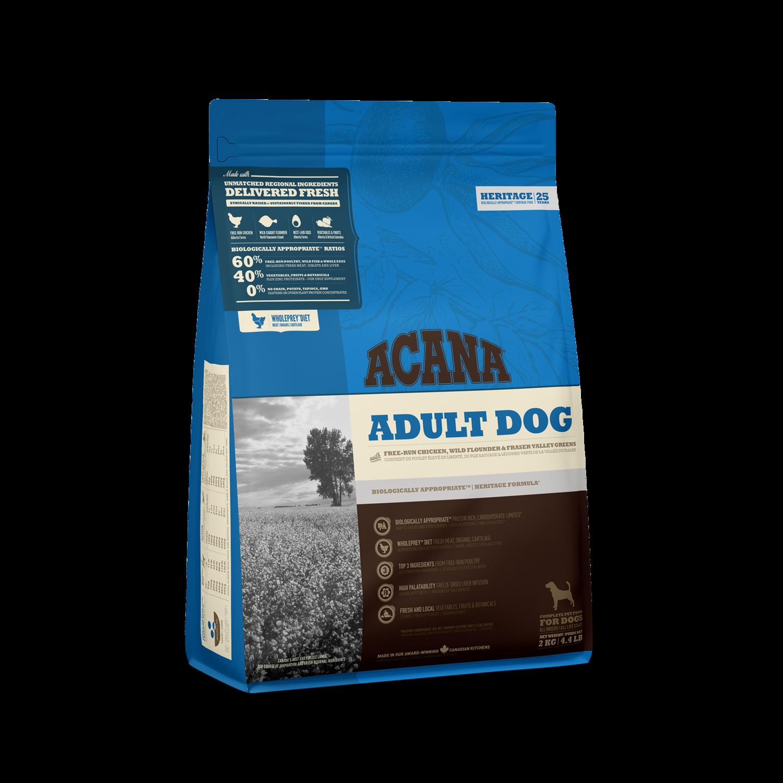 ACANA HERITAGE DOG ADULT 2KG.
