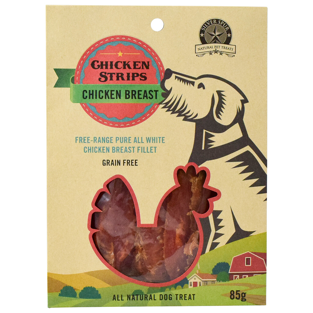 SILVER SPUR CHICKEN BREAST 85G.