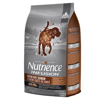 NUTRIENCE INFUSION DOG CHICKEN SENIOR 10KG.
