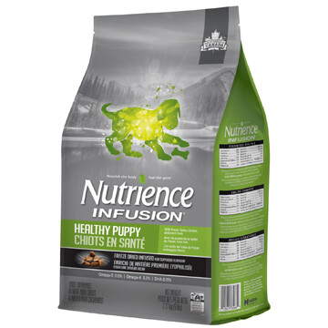 NUTRIENCE INFUSION DOG CHICKEN PUPPY 2.27KG.