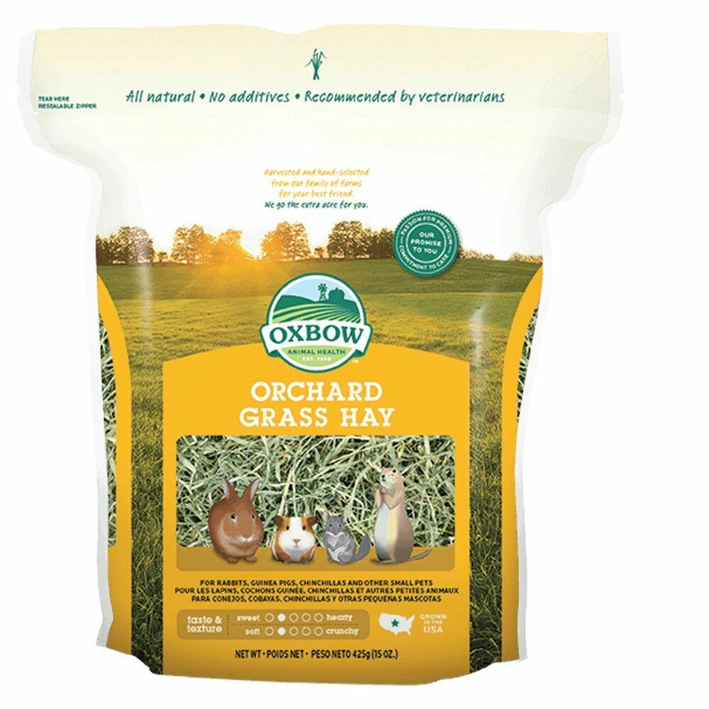 OXBOW ORCHARD GRASS HAY 15OZ.