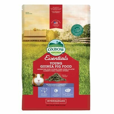 OXBOW YOUNG GUINEA PIG FOOD 5LB.