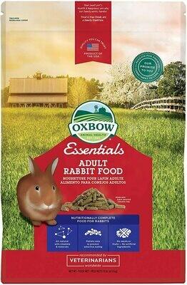 OXBOW ADULT RABBIT FOOD 10LB.