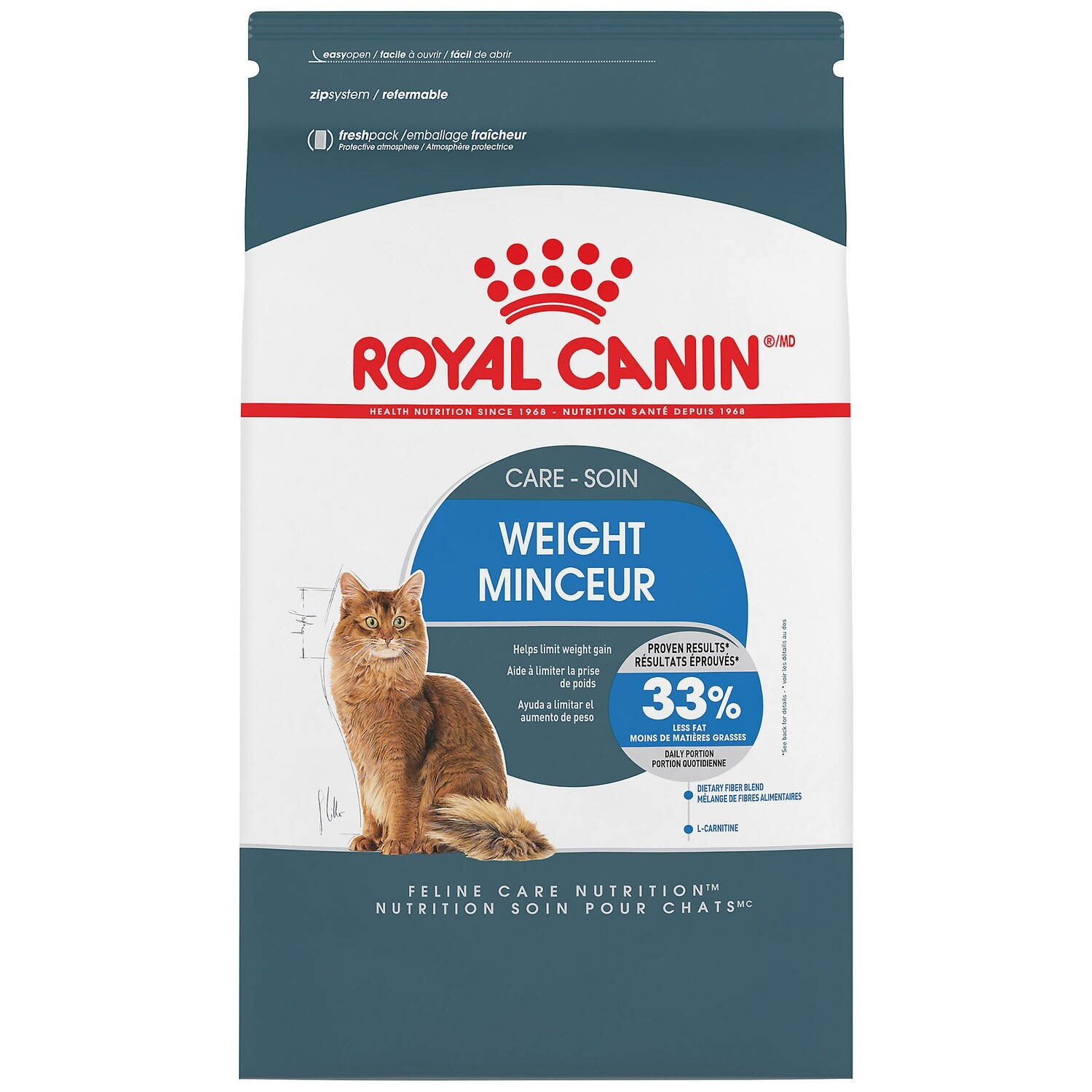 ROYAL CANIN CAT INDOOR WEIGHT CARE 3.18KG.