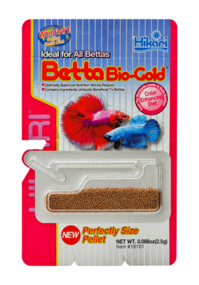 BETTA BIO-GOLD FOOD 2.5G