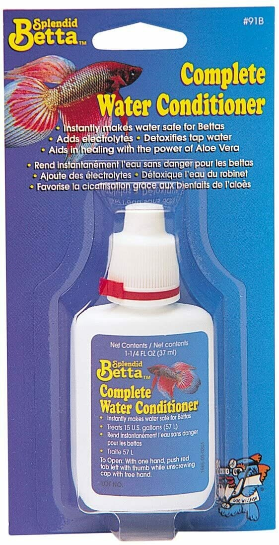 SPLENDID BETTA COMPLETE WATER CONDITIONER 37ML