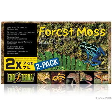 EXO TERRA FOREST MOSS-2X7L