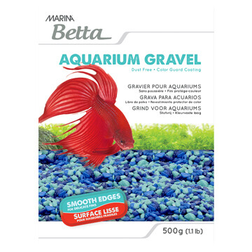 MARINA BETTA GRAVEL TRI-COLOR BLUE 500G