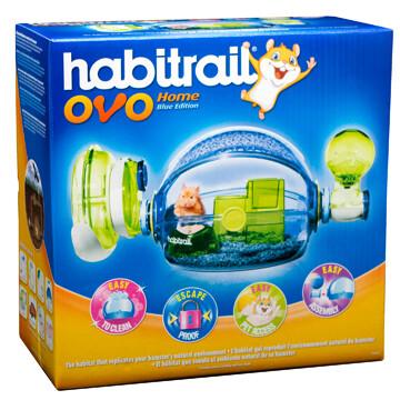 HABITRAIL OVO HOME - BLUE