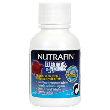 NUTRAFIN BETTA TAP WATER CONDITIONER 60ML.