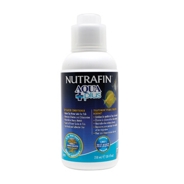 NUTRAFIN AQUA PLUS TAP WATER CONDITIONER 250ML.