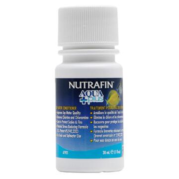 NUTRAFIN AQUA PLUS TAP WATER CONDITIONER 30ML.