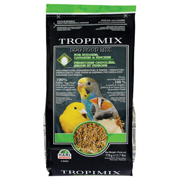 TROPIMIX EGG FOOD F/MIX BUGDIES, CANARIES, FINCHES 770G