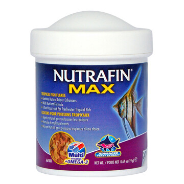 NUTRAFIN TROPICAL FISH FLAKES 100ML.