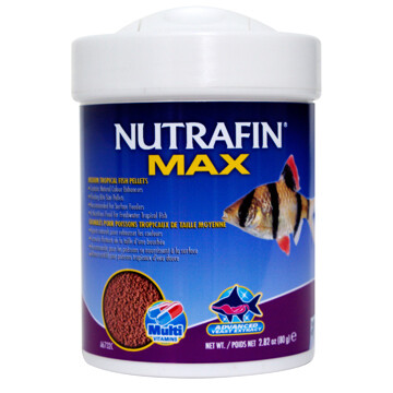 NUTRAFIN MEDIUM TROPICAL PELLETS 80G.