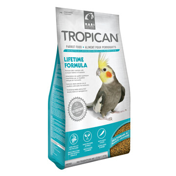 TROPICAN LIFETIME FORMULA GRANULES FOR COCKATEILS 1.8KG.